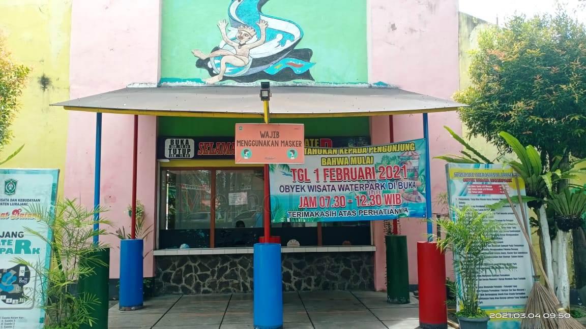 Buka Setengah Hari, Water Park di KWT Sepi Pengunjung