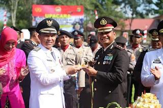 HUT Bhayangkara ke -73 Parosil Umrohkan Personil Polres Lampung Barat