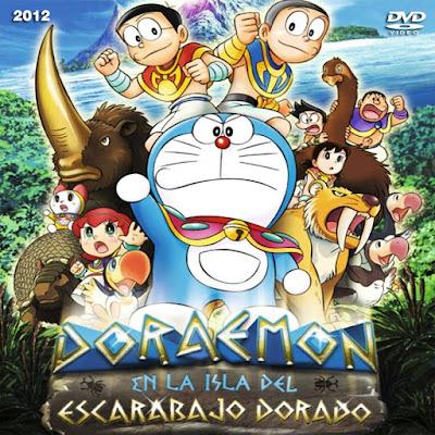 Doraemon en la isla dels escarabajo dorado - [2012]