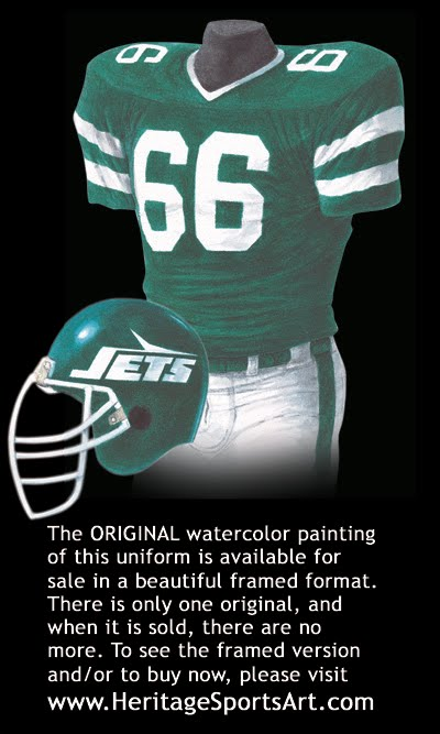 Jets Uniform History 39