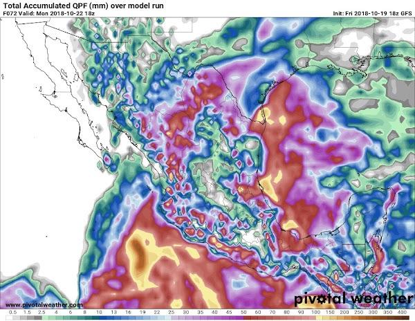 ALERTAS: tormentas severas se aproximan a tamaulipas México.