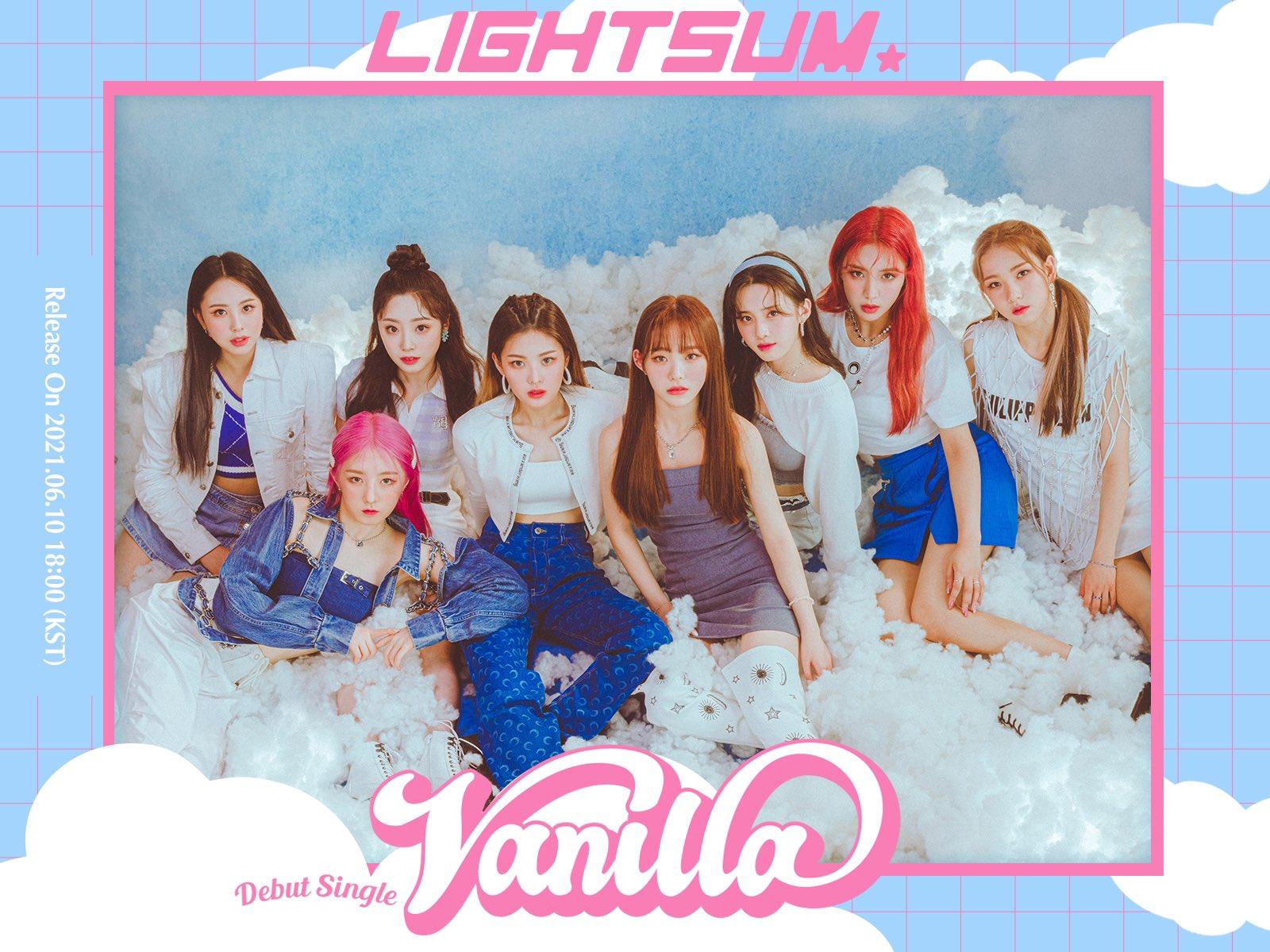 Lightsum hace su debut con Vanilla, el nuevo grupo de Cube Entertainment