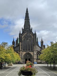 Glasgow Necropolis sept 2019