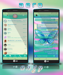 Butterfly Cute Theme For YOWhatsApp & Fouad WhatsApp By angy fénix