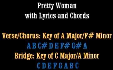pretty woman acordes