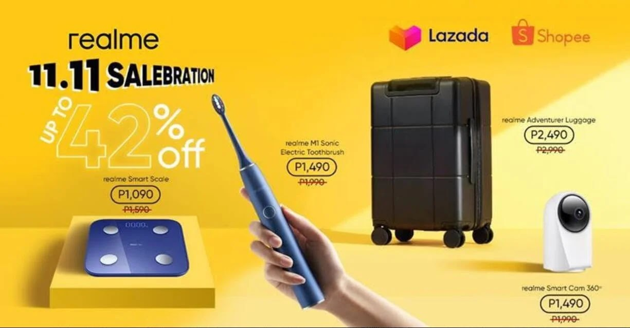 realme PH Treats Loyal Customers with New Smart Home Devices Alongside 11.11 Sale