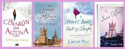 portadas del libro Un corazón sin forma alguna, de Emylia Hall