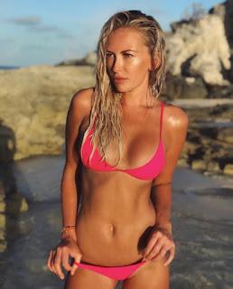 Dustin Johnson Girlfriend Paulina Gretzky Shows Off Her Bikini Body