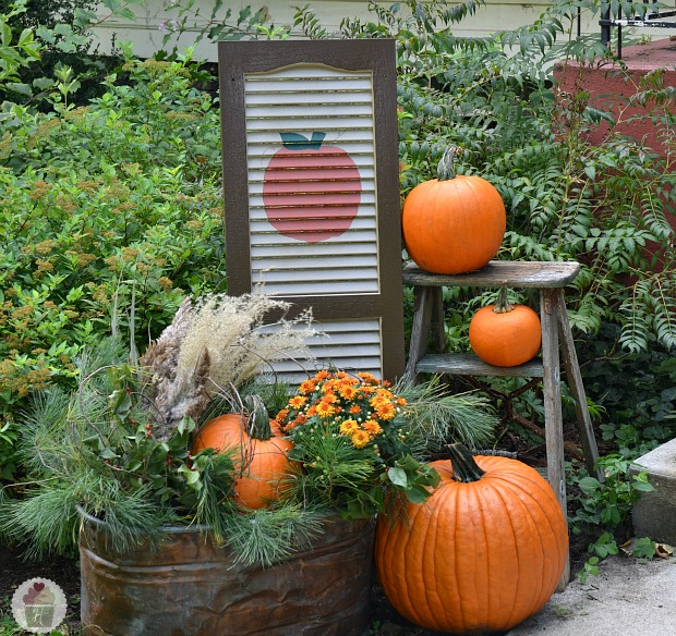 Home Made Decor: Anyone Can Decorate: Fall Front Porch Ideas 2012