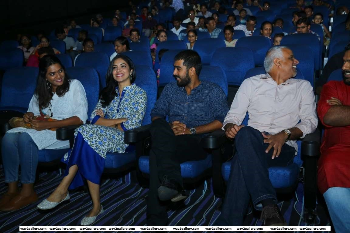 We spotted Ritu Varma at a special screening of Telugu film Pelli Choopulu