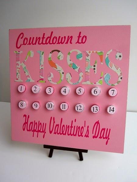 Valentine Day Countdown Calender