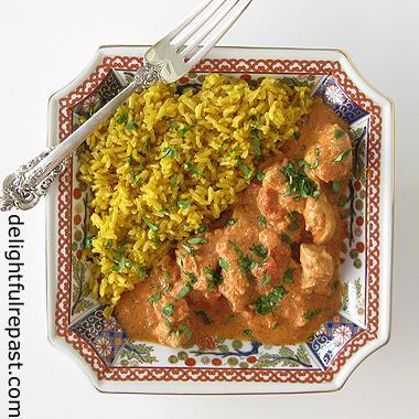 Slow Cooker Chicken Tikka Masala / www.delightfulrepast.com