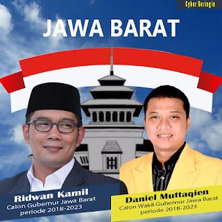 Setelah Ridwan Kamil ,Daniel Pun Akhirnya Mengakui Bakal  Maju Jadi Cawagub di Jabar