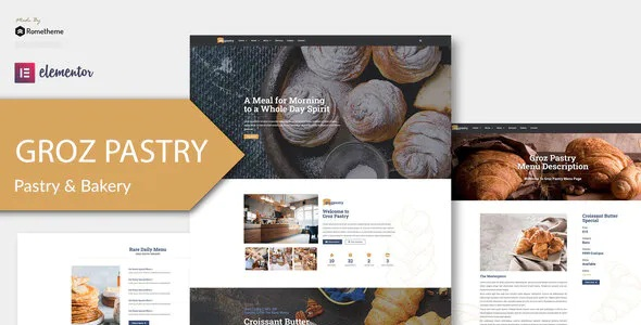 Best Bakery Elementor Template Kit
