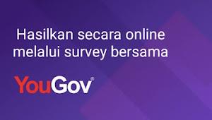 Survey Berbayar | Hasilkan uang dengan mengisi survey secara online dengan YOUGOV