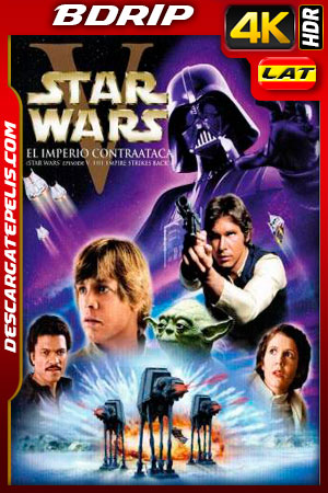 Star Wars: episodio V el imperio contraataca (1980) 4k BDrip HDR Latino – Ingles