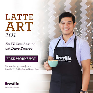 Patty Villegas - The Lifestyle Wanderer - Breville Online Campaign - Virtual Coffee Festival - Year 2 -latte art 101
