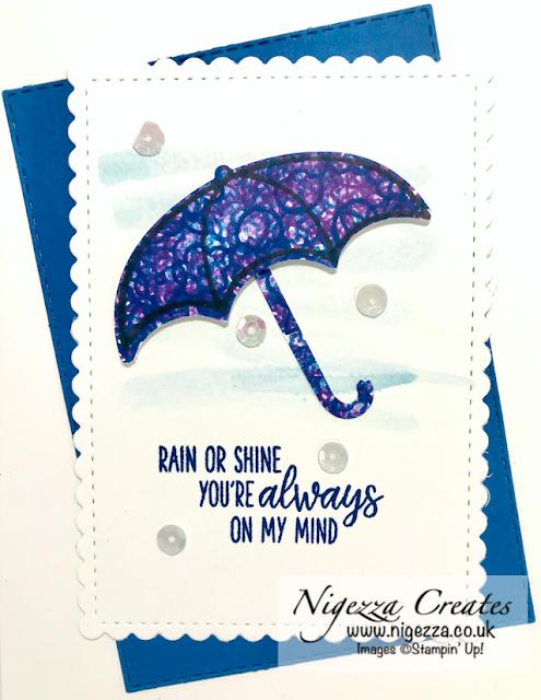 Nigezza Creates with Stampin' Up! Under My Umbrella