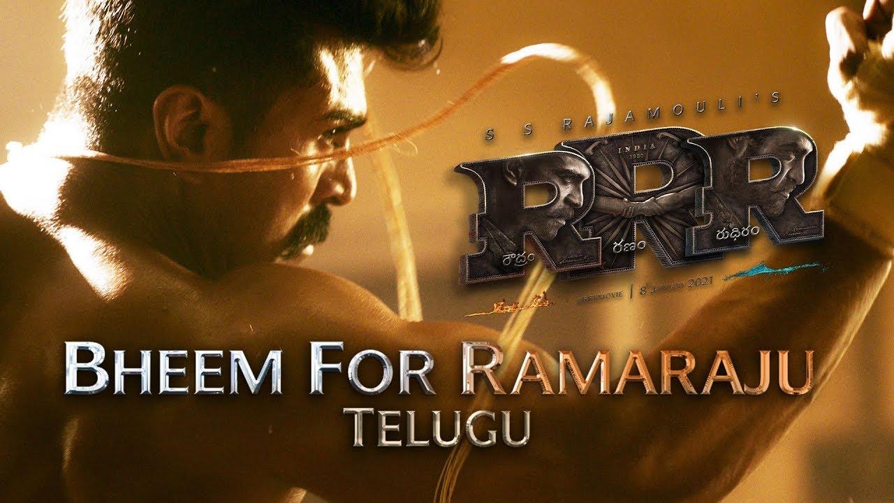 RRR Movie New Trailer Ram Charan Birthday Surprise Gift