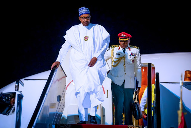 PHOTOS : PMB Arrived safely in Egypt for peace sustainable Development in Africa