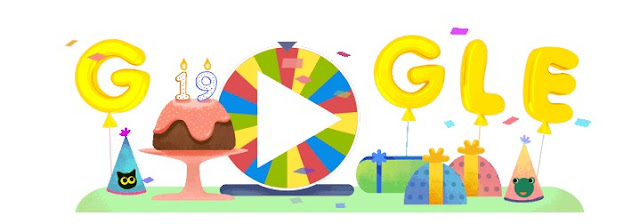 Keseruan Ulang Tahun Google yang ke 19, Happy Birtday Google !!!