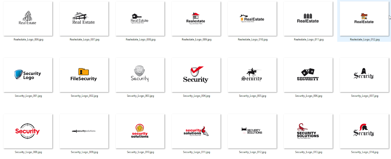 One of the largest collections of open source logos in the size of 800 MB 450 PSD