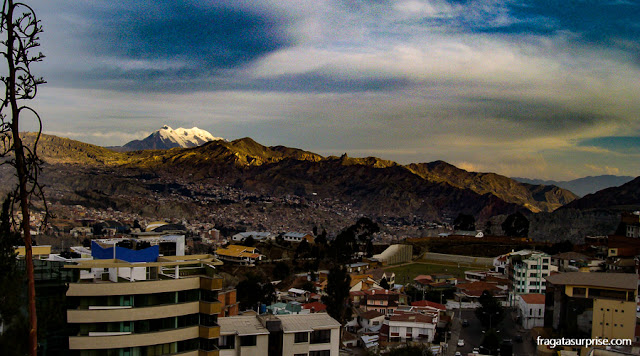 Vulcão Illimani, La Paz, Bolívia