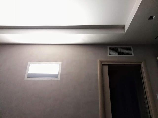 Trilocale Valbrembo Cornelle luci a parete