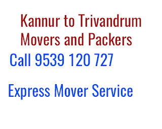 Kannur to Trivandrum Moving Company