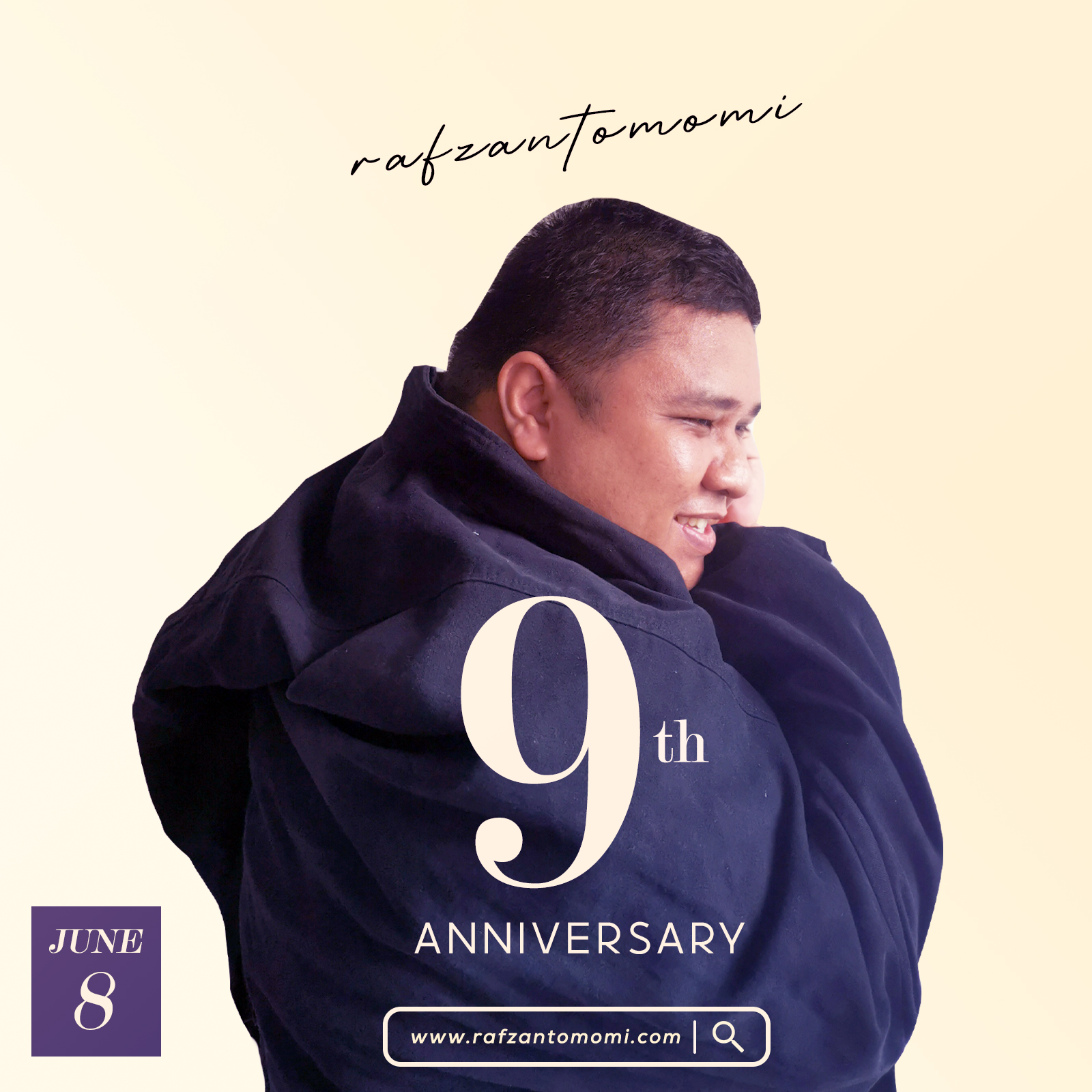 Happy 9th Anniversary, @rafzantomomi !