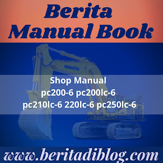 Shop Manual pc200-6 pc200lc-6 pc210lc-6 220lc-6 pc250lc-6