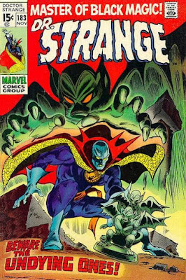 Dr Strange #183, the Undying Ones