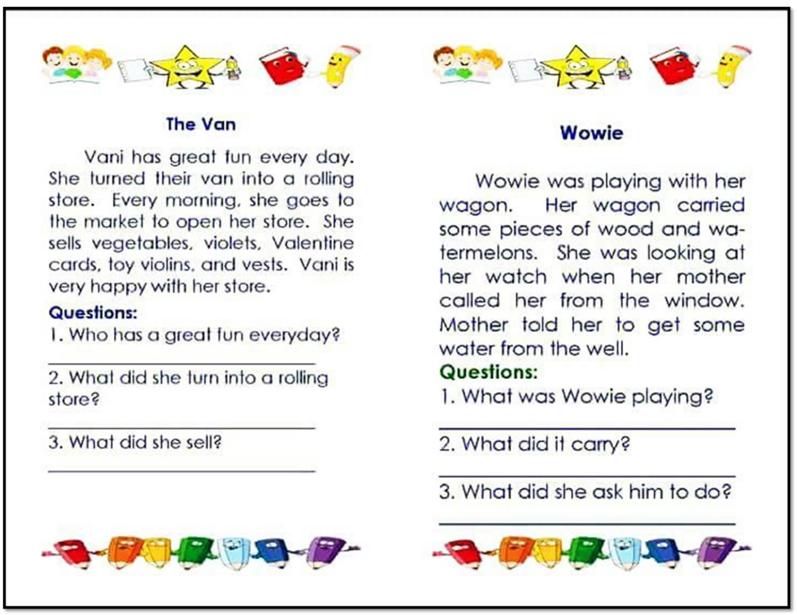 English Reading Log Remedial Lessons
