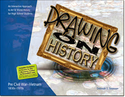 One Year Fine Art Credit - Home school Art Curriculum - Drawing On History