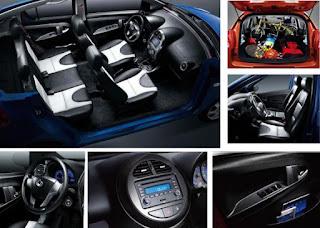 Interior Mobil Geely Panda