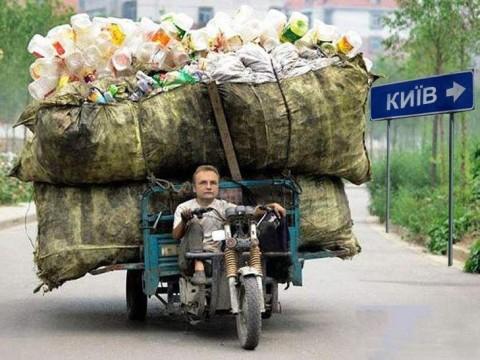 Львівське сміття виявили на Бориспільщині