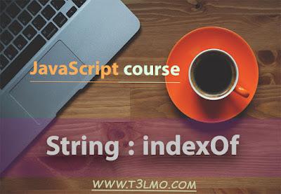 شرح دالة indexOf في javaScript string
