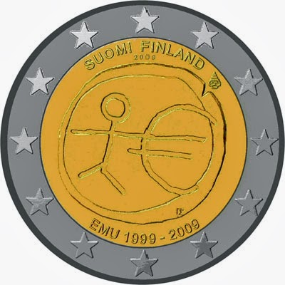 2 euro Finland 2009, Ten years of Economic and Monetary Union and introduction of the Euro