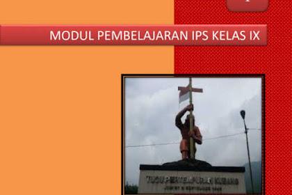Modul IPS SMP Kelas 9 untuk Belajar di Rumah (BDR)/ PPJ