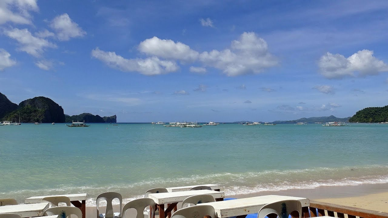 Пляж Накпан в Эль-Нидо