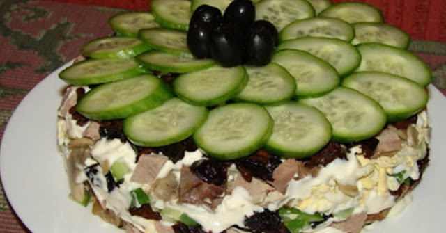Вкусный салат Меркурий рецепт-картинка