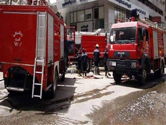السيطرة على حريق نشب بشقة فى شارع المحطة بسوهاج
