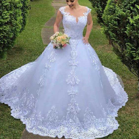 فساتين اعراس 2020 مميزة ، تشكيلة رائعة من بدلات وفساتين الاعراس لجمالك