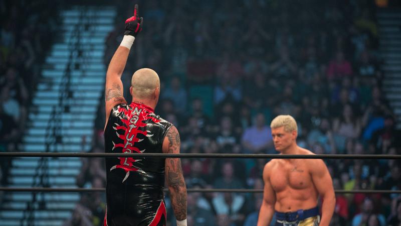 Dustin Rhodes ainda sonha conquistar o TNT Championship na AEW