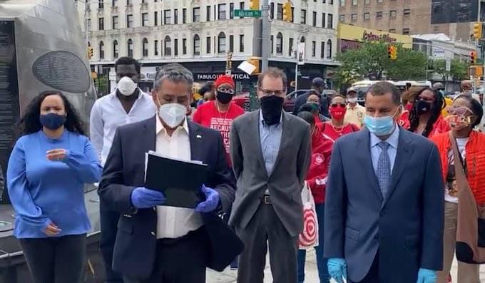 Espaillat lanza el Manifiesto de Harlem para poner fin a la brutalidad policial y detener el racismo