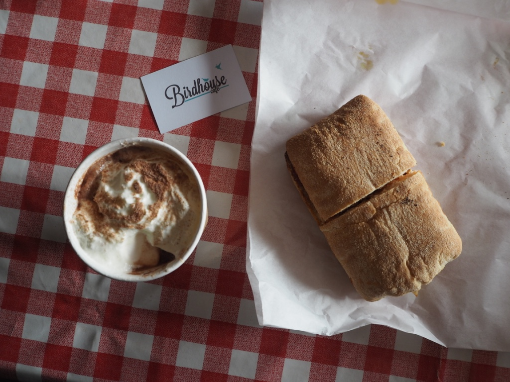 hot chocolate panini birdhouse banchory