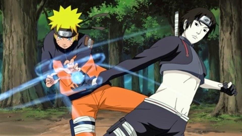 Naruto y Sai se coordinan