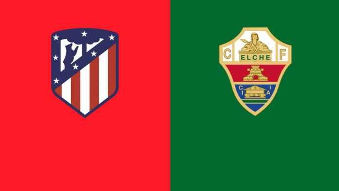 بث مباشر مباراة اتلتيكو مدريد والتشي