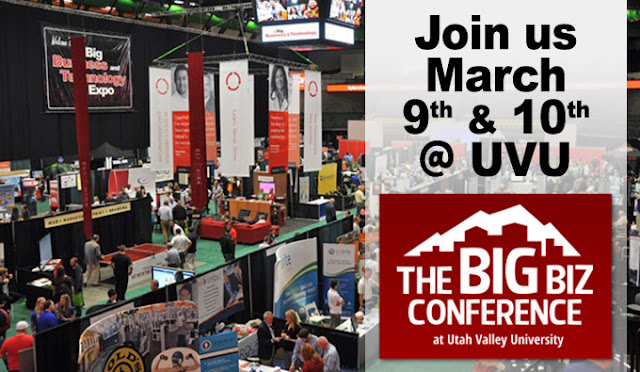Big Biz Expo at UVU in March 2016