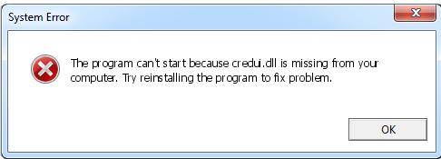 Télécharger Credui.dll Fichier Gratuit Installer